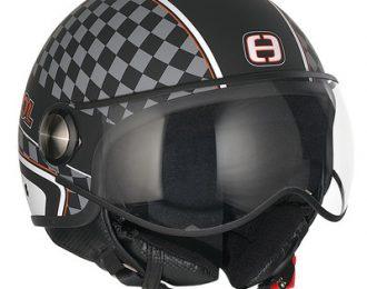 Helm Speeds cool , weiß/schwarz Karo ´´L´´